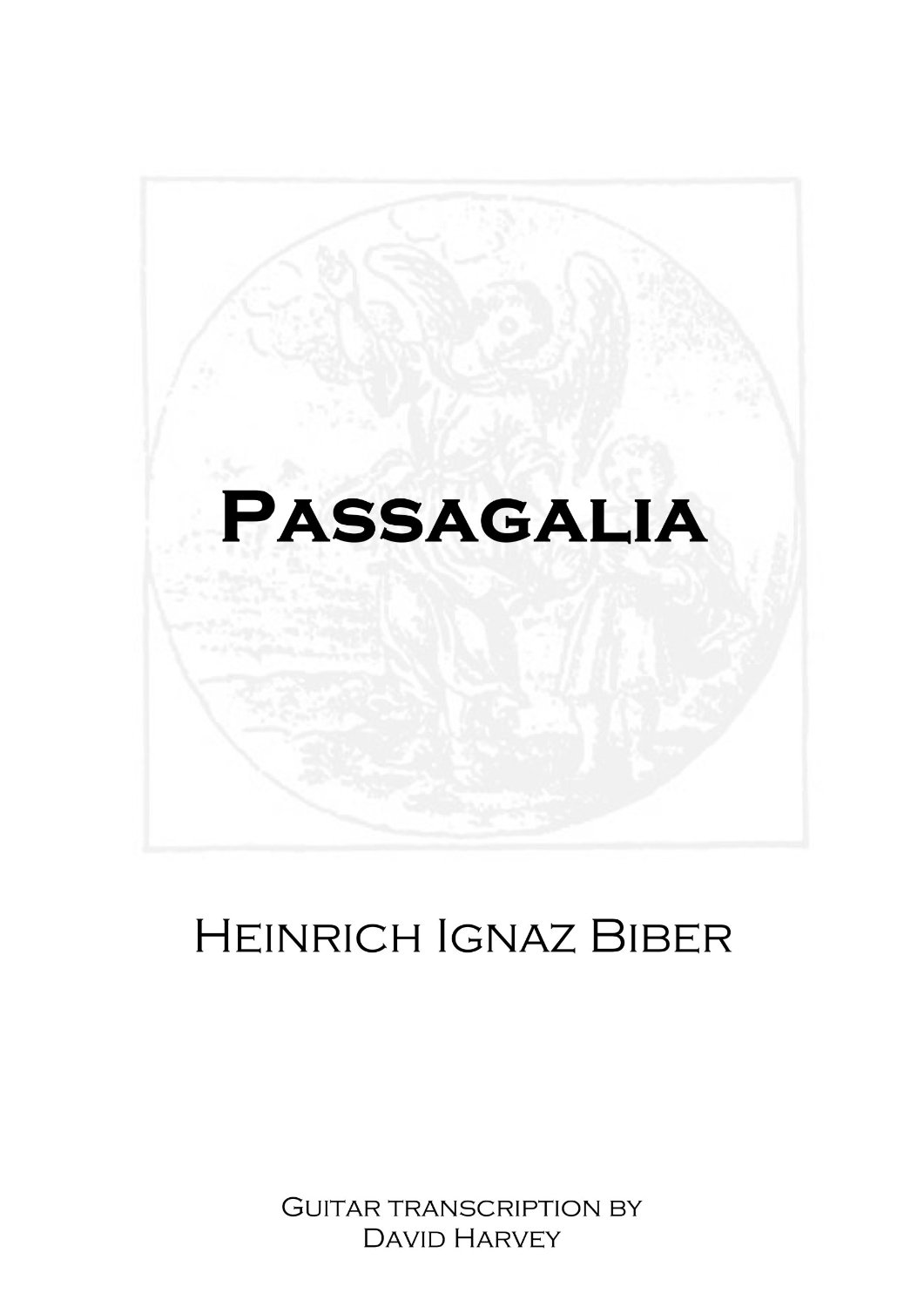 Passagalia - cover