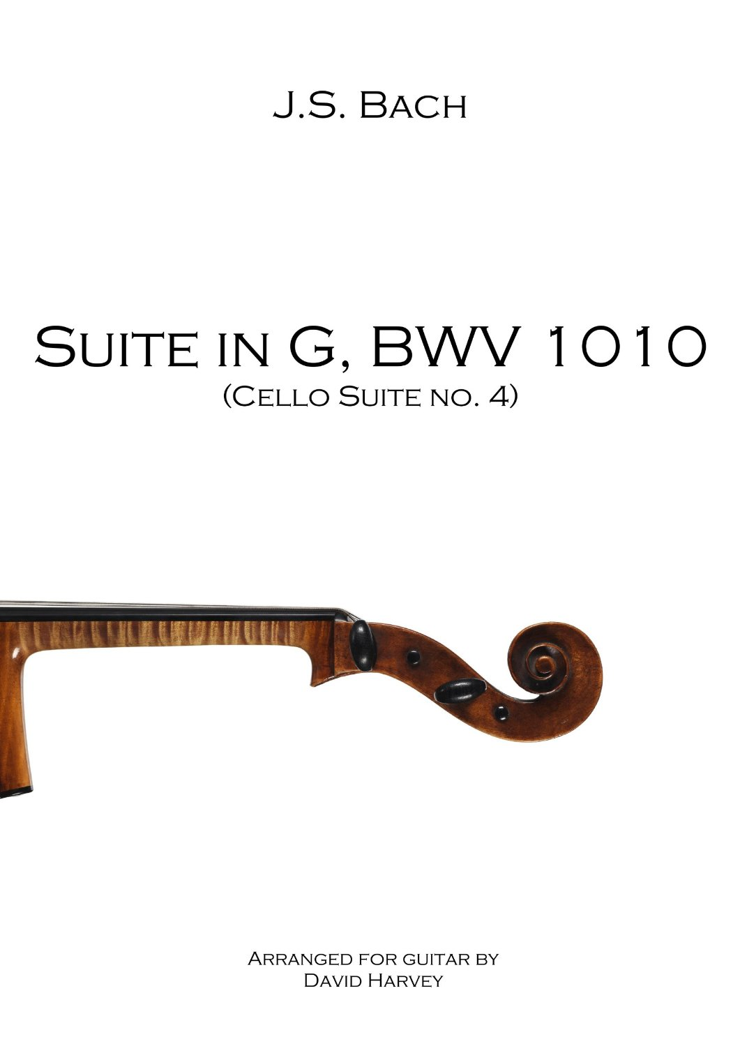 Suite in G, BWV 1010 (4th Cello Suite) - cover