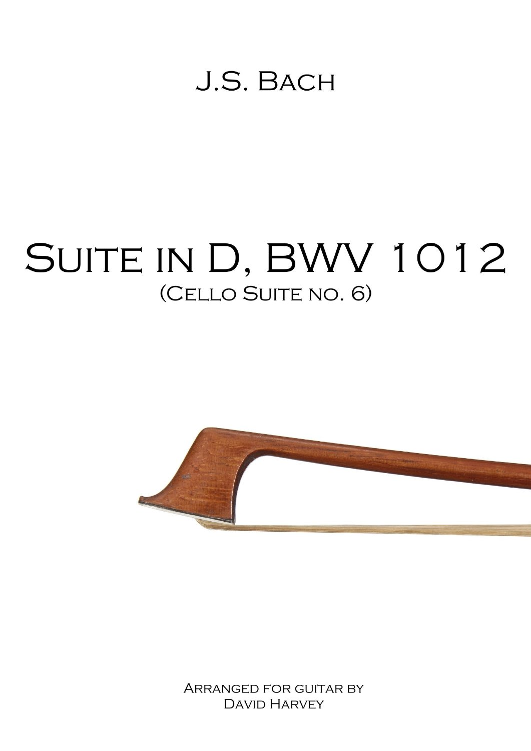 Suite in D, BWV 1012 (6th Cello Suite) - cover